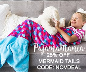 Mermaid Tail Blankets 25% OFF