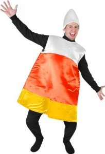 Adult's Candy Corn Halloween Costume