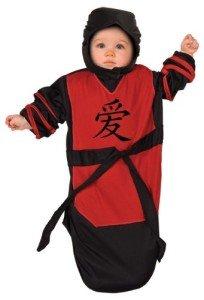 Baby Bunting Costume Ninja Baby