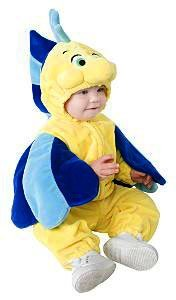 Baby Flounder Costume