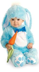Blue Bunny Infant Costume | baby rabbit costume | family group costumes