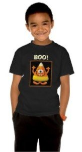 Candy Corn Monster T-shirt