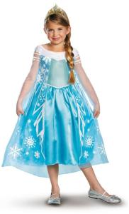 Disney Frozen Deluxe Elsa Toddler : Child Costume