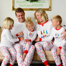 Family Matching Holiday Gnome Pajamas
