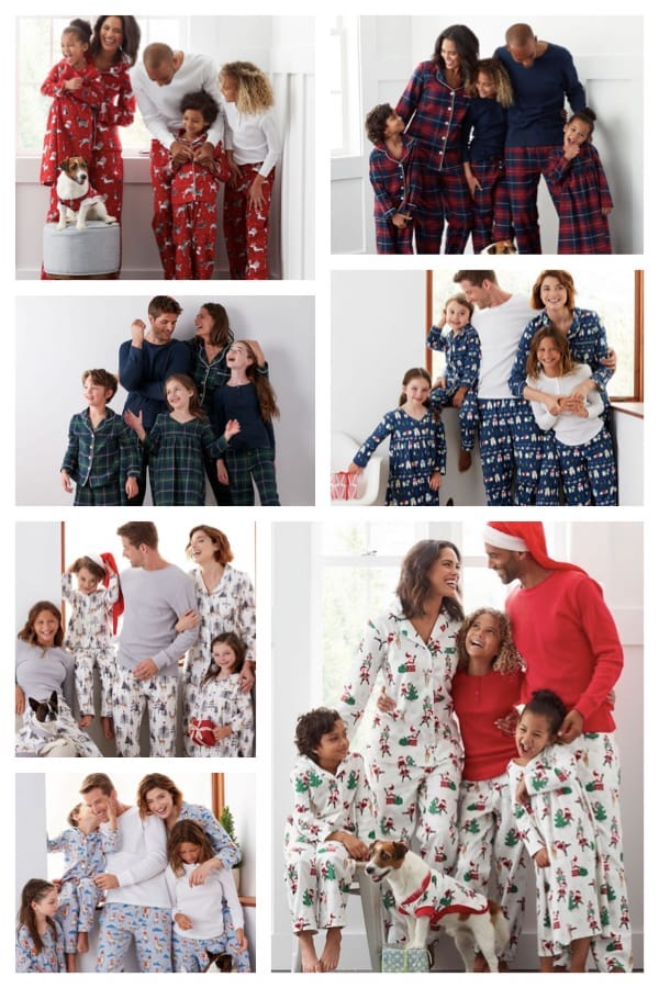 Family Matching Holiday Pajamas - The Company Store