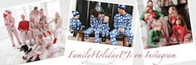 Matching Family Holiday Pajamas On Instagram