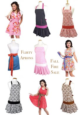 Flirty Aprons Fall Fire Sale
