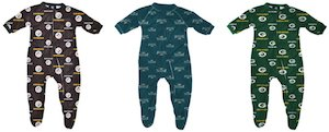 Football Sports Baby Sleepwear Onesie