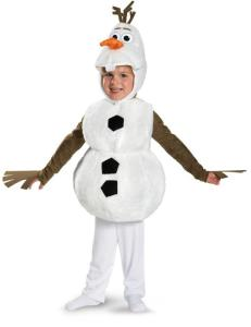 Disney Frozen Child Olaf Costume