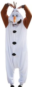 Frozen Olaf Adult Unisex Animal Kigurumi Cosplay Costume Pajamas Onesies