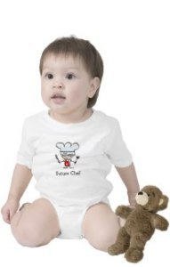 Future chef | Cute baby creeper clothing