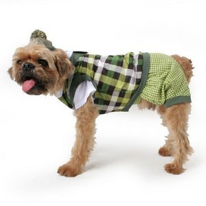 Golfer Dog Costume