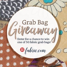 Grab Bag Giveaway from Fabric dot com