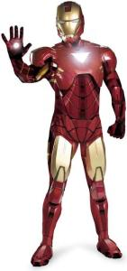 Iron Man Movie Version Adult Costume - Mark 6 Super Deluxe Adult