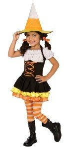 Little Candy Corn Witch Toddler : Child Costume