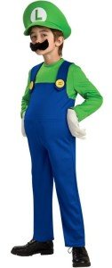 Luigi Deluxe Toddler:Child Costume
