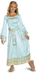 Maleficent - Aurora Deluxe Girls Blue Dress Costume