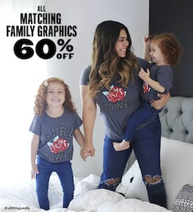 Matching Family Graphic Tees