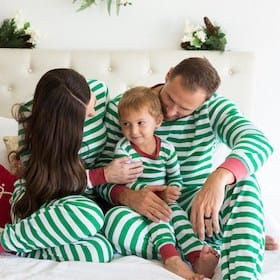 Matching Family Pajamas Stripes