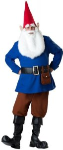 Men's Mr. Garden Gnome Costume |family group costumes