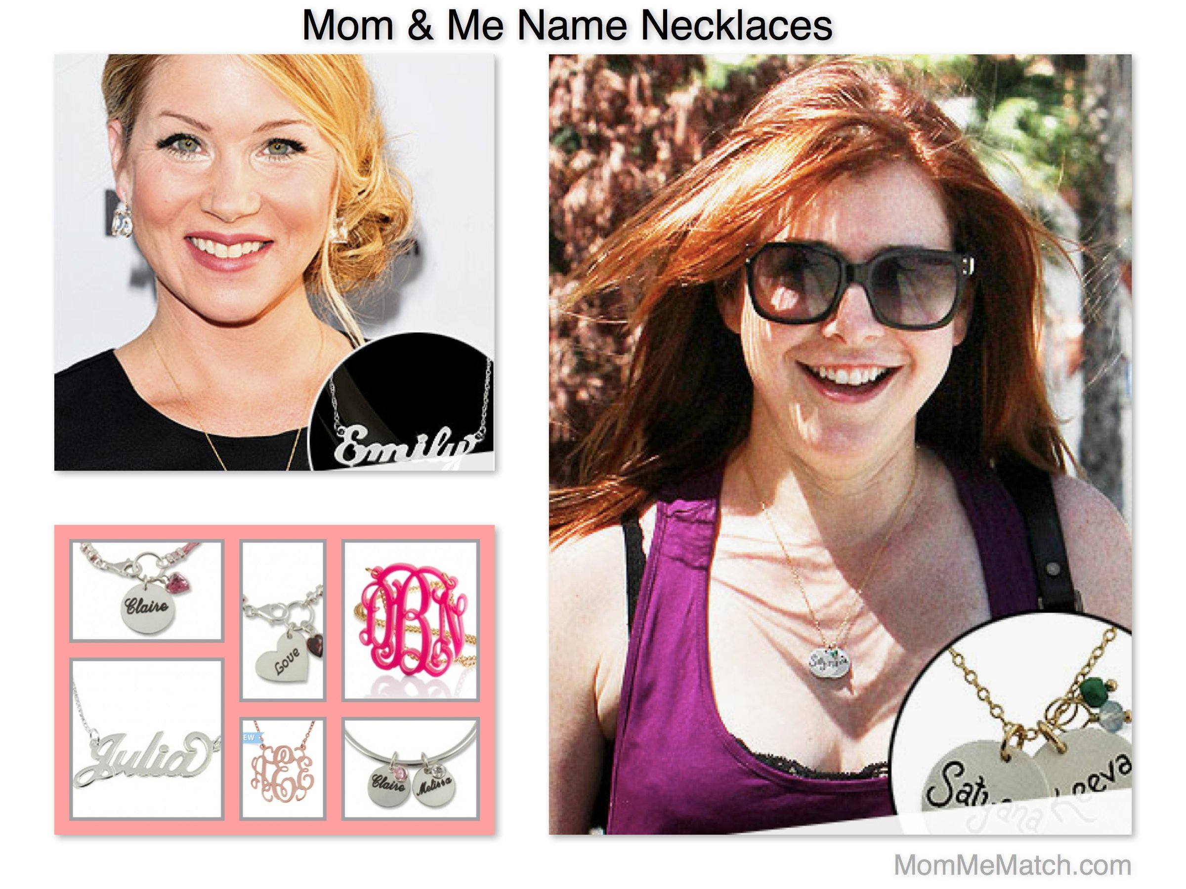 Mom & Me Name Necklaces