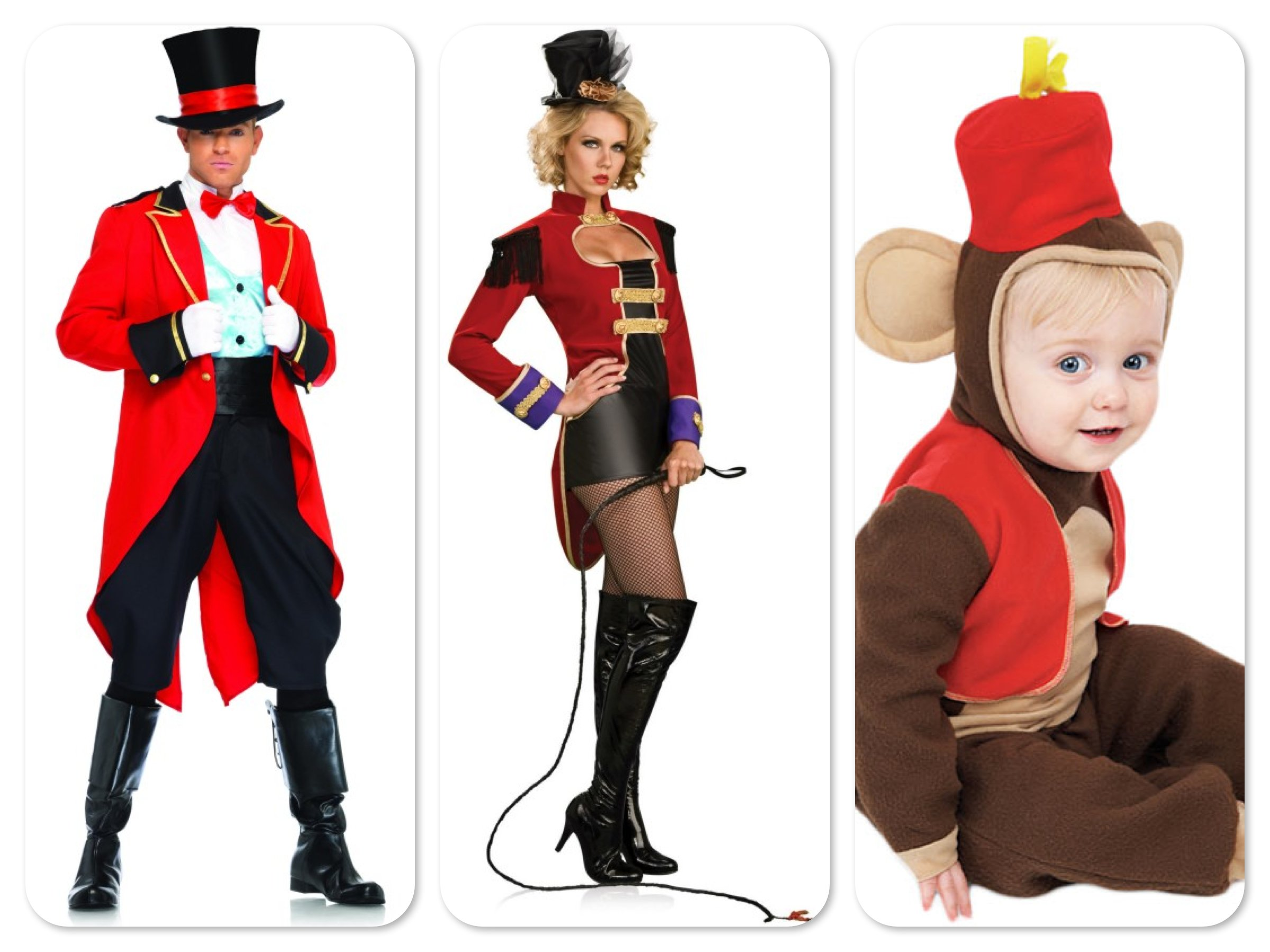 Mommy, Daddy & Me Matching Circus Costumes