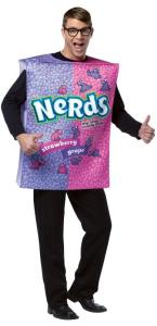 Nerds Box Adult Costume
