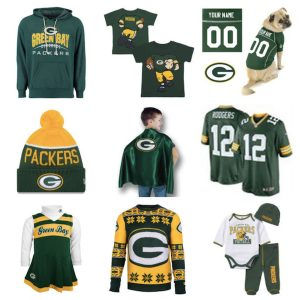 Packers Team Spirit Family Halloween Costumes