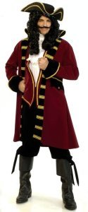 Pirate Captain Hook Peter Pan Costume | family group costumes