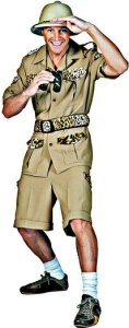 Safari Guide Sam Adult Costume