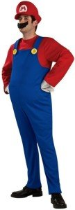 Super Mario Bros. Mario Deluxe Adult Costume