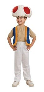 Super Mario Brothers Child's Costume, Toad Costume