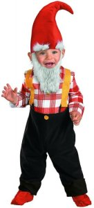 Toddler Garden Gnome Costume | baby family group costumes
