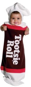 Tootsie Roll Baby Bunting Infant Costume | baby candy costume | family group costumes