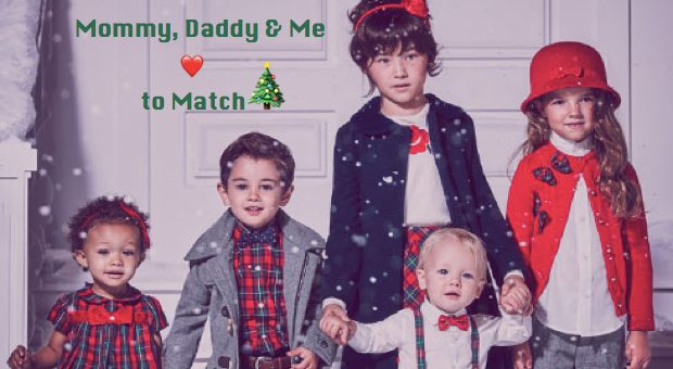 Adorable Gymboree Mom and Me Matching Holiday Outfits