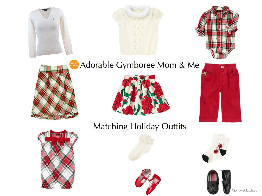 Adorable Gymboree MomMe Matching Holiday Outfits