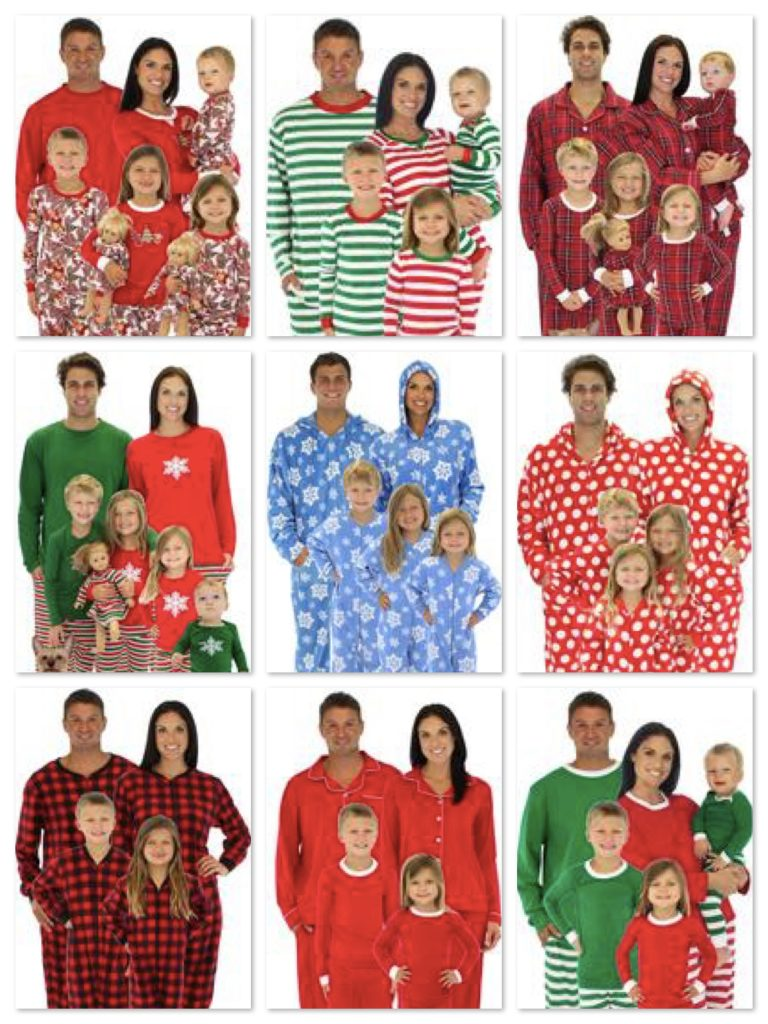 christmas matching family pajamas - Matching Pjs Christmas