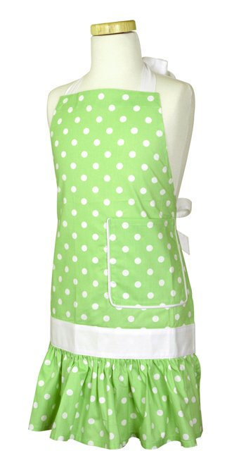 Girls Flirty Aprons SADIE Mint-a-licious