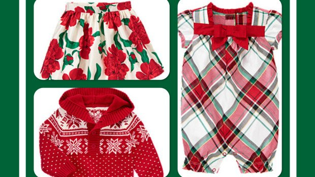 Mom & Me Matching Holiday Outfits from Gymboree
