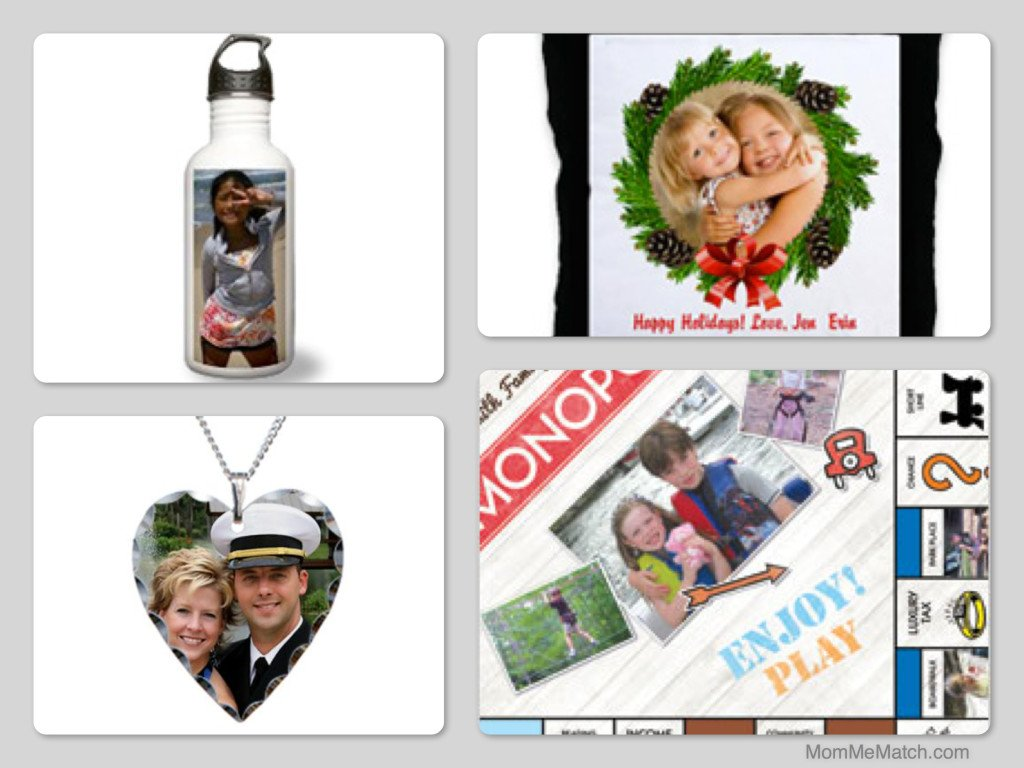 Mom & Me Matching Photo Gifts, Holiday Gift Ideas