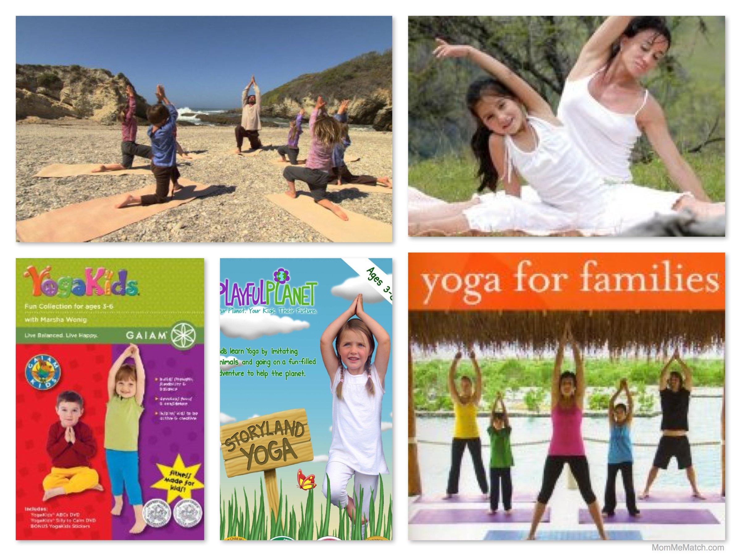 Mom & Me Yoga DVDs & Downloads