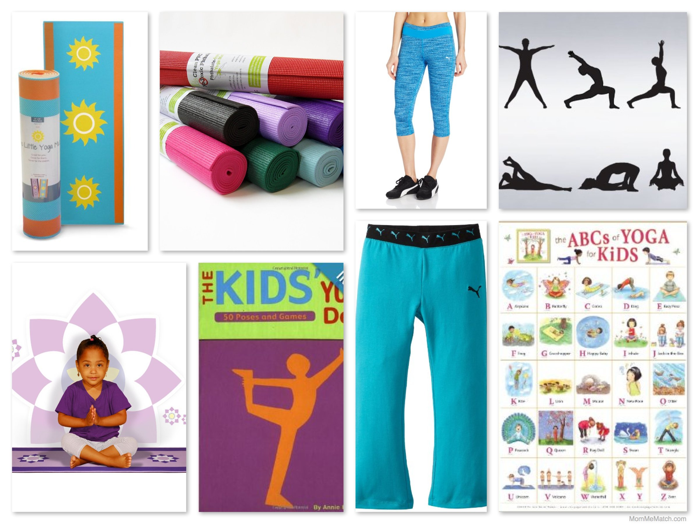 Mom Me Yoga Mats Clothes Books Games Posters
