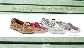 Mom & Me Matching Sperry Shoes