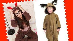 Reindeer Mom & Me Onesies