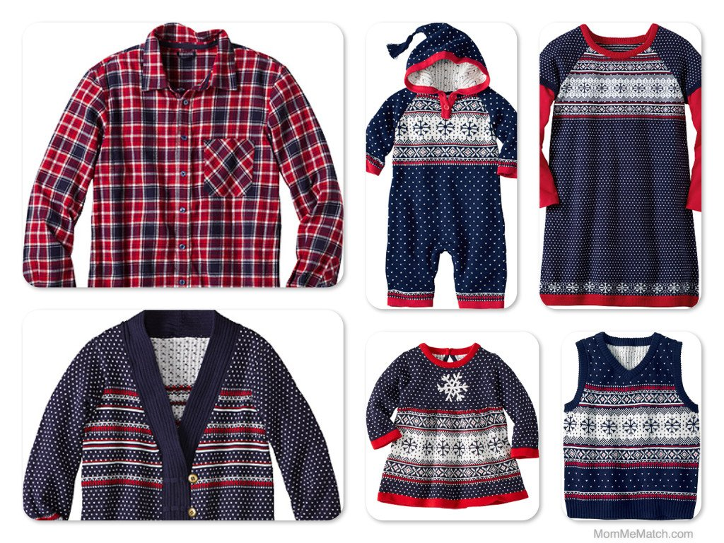 Sleigh Bells Matching Family Holiday Outfits