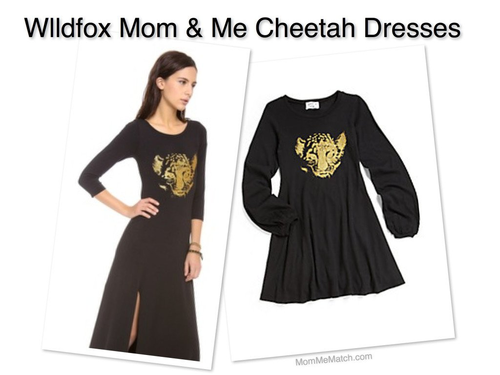 Wildfox Mom & Me Cheetah Dresses