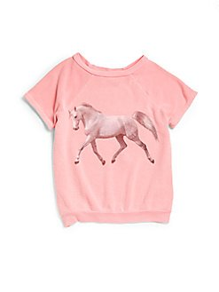 Toddler's & Little Girl's Wander Along Unicorn Sweater