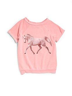 Toddler's & Little Girl's Wander Along Unicorn Sweater