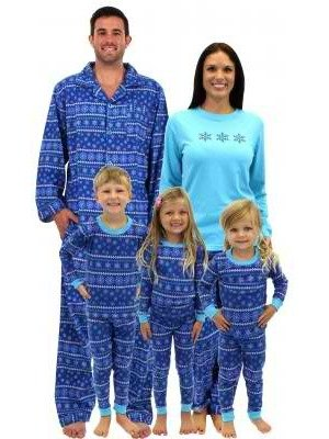 Sleepytime Pjs Frozen Winter Family Matching Pajamas