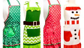 Flirty Holiday Aprons